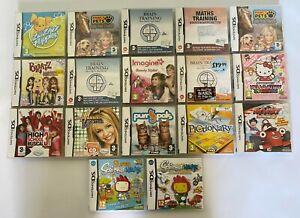 Nintendo Ds Games Bundle, Job lot - 17 Game Lot