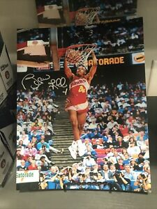 SPUD WEBB signed (ATLANTA HAWKS) autographed NBA 8X10 photo From Our Signing