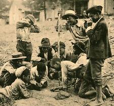 c1905 RARE POSTCARD BLACK AMERICANA ATLANTA GEORGIA  JIM CROW ERA