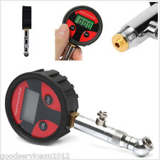 Practical LCD Display Motorcycle Bike Tire Air Pressure Gauge Digital Meter Tool