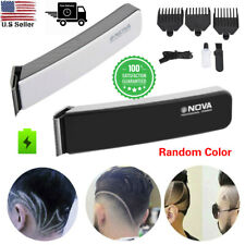 Rechargeable Electric Men hair Clipper Trimmer Beard Razor Haircut Grooming Kit