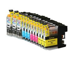 12 INK NON-OEM LC-101 LC-103XL FOR BROTHER MFC-J470DW MFC-J475DW MFC-J650DW