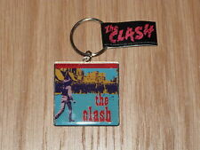 THE CLASH - BLACK MARKET CLASH  METAL KEYRING (NEW) OFFICIAL BAND MERCH