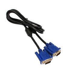 New 15 Pin 5FT Monitor VGA SVGA Male Cable Cord Blue - Ships SAME DAY