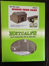 Metcalfe Kit PO251. Manor Farm Barn. 00 Gauge.
