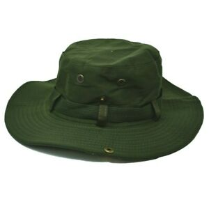 Mens Womens Bucket Boonie Hat Neck Flap Cover Sun Wide Brim Fishing Hiking Cap