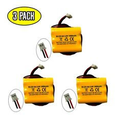 (3 pack) Exit Sign Emergency Light NiCad Battery Replacement 3.6v 1000mAh