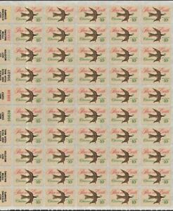 Scott 1552 10c PEACE ON EARTH 50 Stamp Sheet *see desc for shipping info