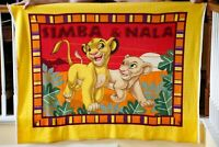 Vintage Disney The Lion King Simba & Nala Blanket