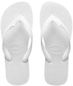 Havaianas Mens Top White Thongs