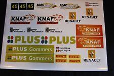 QSP Diorama Decal set 1:18 KNAF Talent First Rally Service Tent