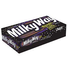 MILKY WAY Midnight Dark Chocolate Singles Size Candy Bars, 1.76-Ounce, 24/box