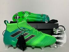 Adidas Ace 17.1 Primeknit SG Soft Ground Soccer Cleats Green Black SZ (BB0870)