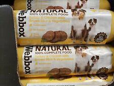 WEBBOX 100% NATURAL COMPLETE FOOD MIX.CHICKEN/RICE/VEG.FLASH SALE £6 FREEPOST