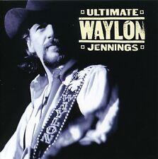 Waylon Jennings - Ultimate Waylon Jennings [New CD] Rmst