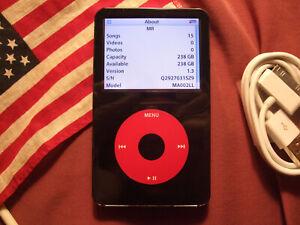 U2 RED iPod Video 5th 5.5th Gen 256GB SD 256 GB *MADE IN USA* >240GB/160GB/120GB