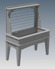 HERB OR VEGETABLE GARDEN PLANTER V03 - Build Your Own - Building Plans 2D & 3D