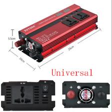 1200W Auto Car SUV Power Inverter Converter DC12V To AC 220V 4-USB Ports Charger