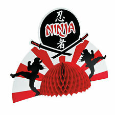 Ninja Warriors Centerpiece - Party Decor - 1 Piece
