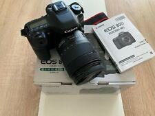 Canon EOS 80D WIE NEU MIT ZUBEHÖRPAKET Einsteiger-Paket