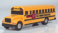 "International Blue Bird Ertl Community School Bus 5"" Scale Model With Stop Sign"