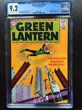 GREEN LANTERN #21 CGC NM- 9.2; OW; 1st app. Dr. Polaris!