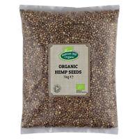 Organic Hemp Seeds 1kg Certified Organic
