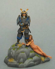 Special Edition SAMURAI WARRIOR WITH RESCUED FEMALE TRIBUTE Dark Sword DSM7525