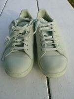 stan smith adidas men's mint green leather sneakers size 9.5US