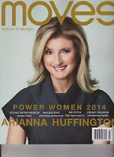 NEW YORK MOVES MAGAZINE #61 2014, POWER WOMEN ARIANNA HUFFINGTON.