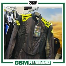 OMP First Evo Race Suit - Size 46 - Anthracite
