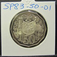 1983 Australia 50c Fifty Cents #SP83-50-01 =PROOF=