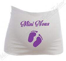 Bandeau de Grossesse Maternité Mini Nous petits pieds de bébé Future Maman