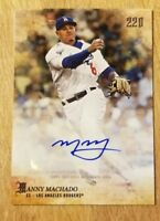 Manny Machado 2018 Topps Now X Bryce Harper 220 Second to None Auto Autograph