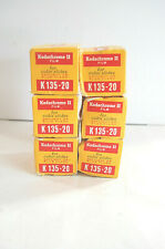 6 Rolls NEW NOS Kodak Kodachrome II 35mm Color Slide Film K135-20 ASA 25Expired