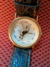 Vintage Wrap Watch Inc. Case Hong Kong German Shepard on Face
