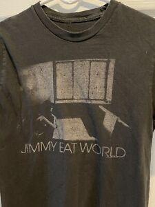 Vintage 2010 Jimmy Eat World Concert Black T Shirt S
