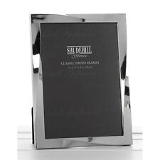 Polished Silver Twist 5 x 7 Frame Picture Photo Anniversary Gift Novelty