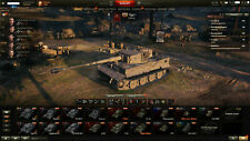 World Of Tanks -Account, 1,9kGold, 1,4+Mio.KP, 8JahreTreueBonus & viele Extras!
