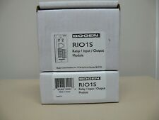 Bogen Communications Rio1S Relay/Input/Output Module-New-(Lot of 2-Pcs)