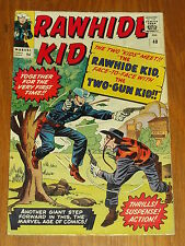 RAWHIDE KID #40 FN- (5.5)MARVEL TWO GUN KID X-OVER COWBOY AND WESTER JUNE 1964 *