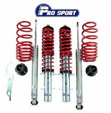 AUDI A3 MK1 8L (96-03) COILOVERS - ADJUSTABLE SUSPENSION LOWERING SPRINGS KIT
