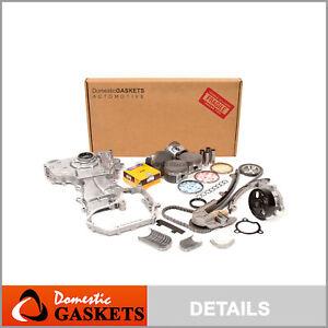 Fits 02-06 Nissan Altima Sentra SE-R 2.5 DOHC Overhaul Engine Rebuild Kit QR25DE
