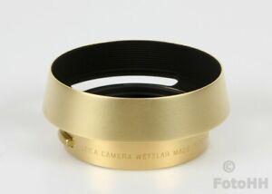 RARE/ORIGINAL LEICA GOLDEN BRASS LENS HOOD FOR LEICA SUMMILUX-M 1:1.4/50mm ASPH.