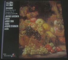 STARKER - KATCHEN - SUK : BRAHMS SONATAS DECCA SDD 541  ENGLAND LP EX