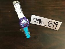CASIO G SHOCK CUSTOM HYPER GA-110HC-1A PURPLE BLUE WHITE