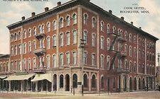 Cook Hotel Rochester Mn Postcard 1909