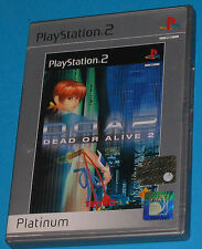 Dead or Alive 2 - Sony Playstation 2 PS2 - PAL