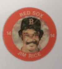 JIM RICE RED SOX 1984 7-11 SLURPEE 3-D COIN LOT OF 2