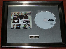 JLS - JUKEBOX CD PERSONALLY SIGNED/AUTOGRAPHED FRAMED PRESENTATION. MARVIN ASTON